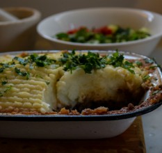 Conscious Farmer twist on the Classic Shepherd's Pie