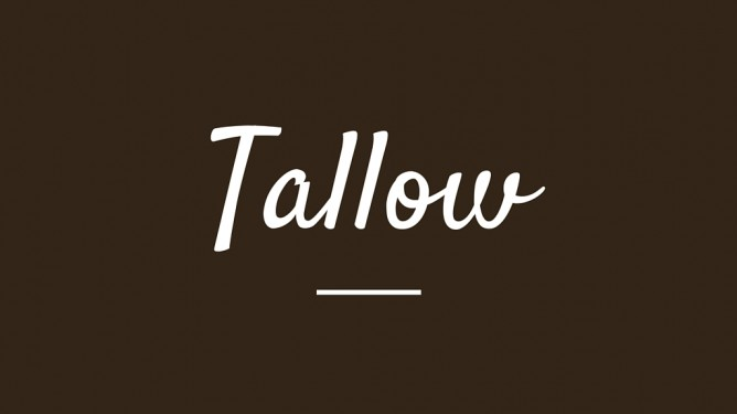 Why Grass Fed TALLOW is a Great Choice for Cooking