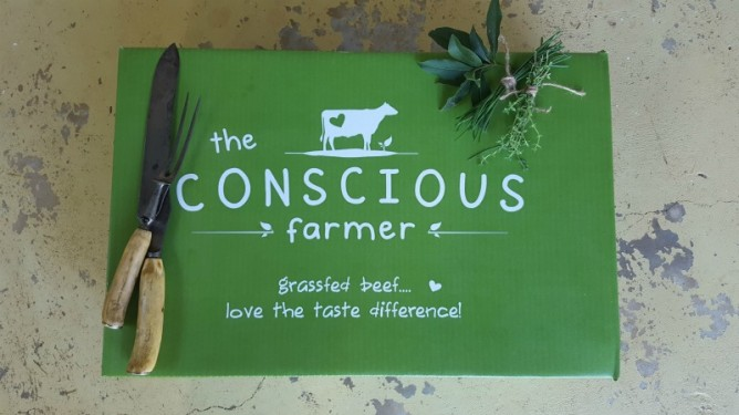What's in a Conscious Farmer Grassfed Beef Hamper?